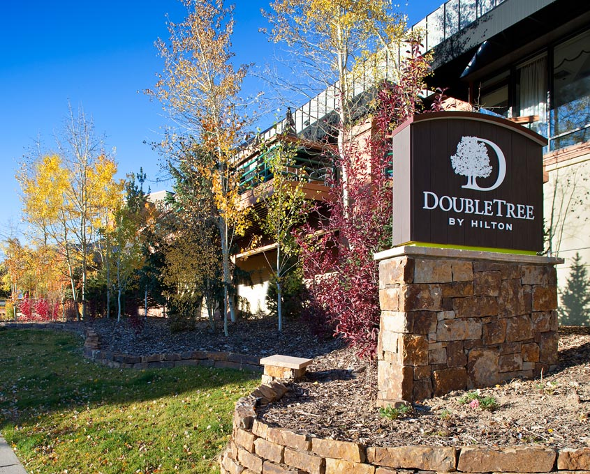 Exterior at DoubleTree