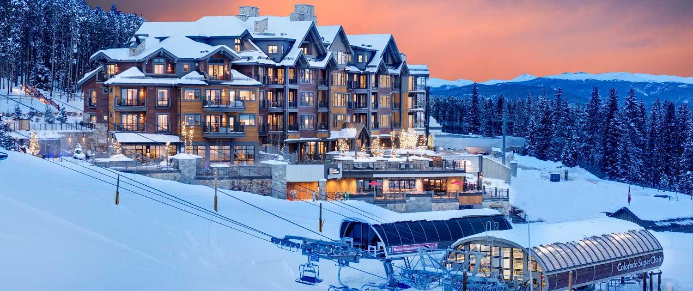 Ski in / ski out at Grand Colorado on Peak 8