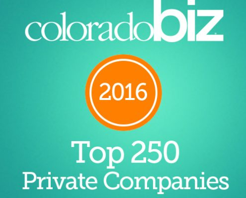 Colorado Biz 2016 top private companies