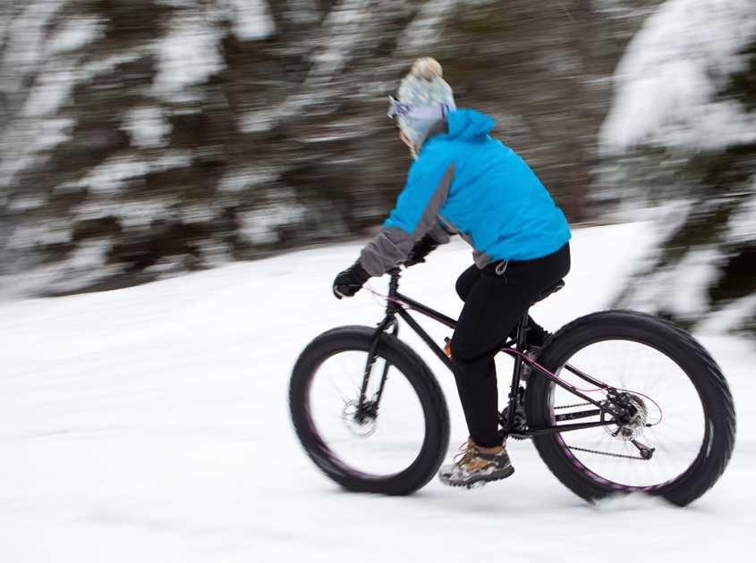 Breck Fat biking