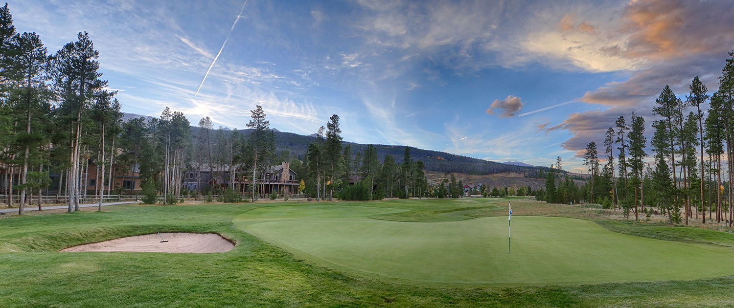 Golf course in Breckenridge