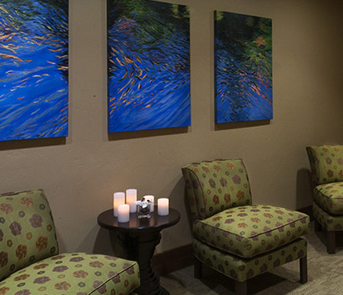 Waiting Area at Soothe