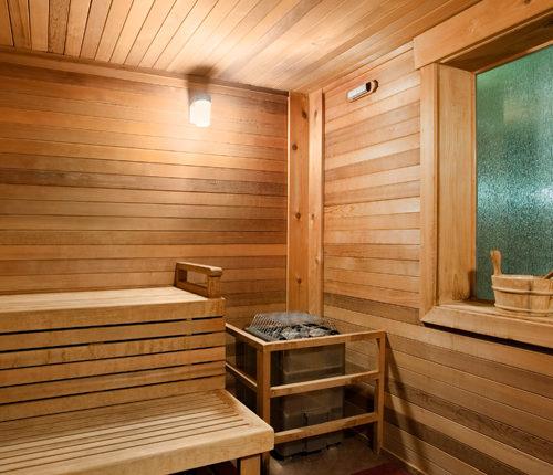 Sauna at Soothe
