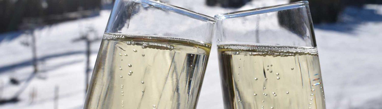 Breckenridge champagne toast
